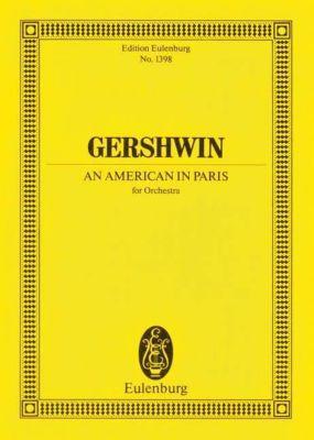 Ein Amerikaner in Paris, Partitur, George Gershwin
