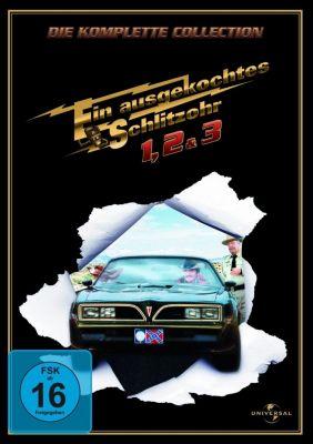 Ein ausgekochtes Schlitzohr 1-3, Sally Field,Jerry Reed Burt Reynolds