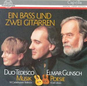 Ein Baß U. Zwei Gitarren, Duo Tedesco, Elmar Gunsch