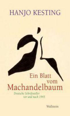 Ein Blatt vom Machandelbaum, Hanjo Kesting