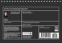Ein Blick auf Heilbad Bad Salzschlirf (Tischkalender 2019 DIN A5 quer) - Produktdetailbild 13