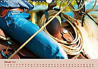 Ein Cowboy und sein Pferd 2019. Impressionen von Mann und Tier (Wandkalender 2019 DIN A4 quer) - Produktdetailbild 1