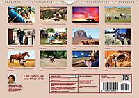 Ein Cowboy und sein Pferd 2019. Impressionen von Mann und Tier (Wandkalender 2019 DIN A4 quer) - Produktdetailbild 13