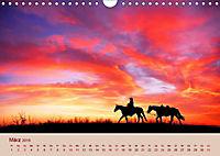 Ein Cowboy und sein Pferd 2019. Impressionen von Mann und Tier (Wandkalender 2019 DIN A4 quer) - Produktdetailbild 3