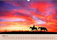 Ein Cowboy und sein Pferd 2019. Impressionen von Mann und Tier (Wandkalender 2019 DIN A3 quer) - Produktdetailbild 3