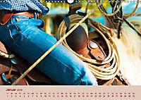 Ein Cowboy und sein Pferd 2019. Impressionen von Mann und Tier (Wandkalender 2019 DIN A3 quer) - Produktdetailbild 1