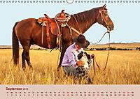 Ein Cowboy und sein Pferd 2019. Impressionen von Mann und Tier (Wandkalender 2019 DIN A3 quer) - Produktdetailbild 9