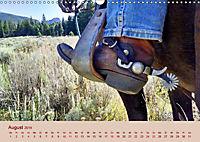 Ein Cowboy und sein Pferd 2019. Impressionen von Mann und Tier (Wandkalender 2019 DIN A3 quer) - Produktdetailbild 8