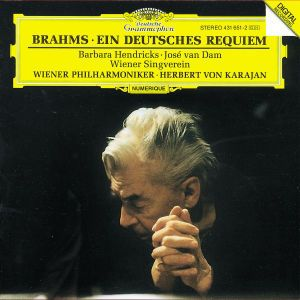 Ein Deutsches Requiem, Hendricks, Dam, Herbert von Karajan, Wp