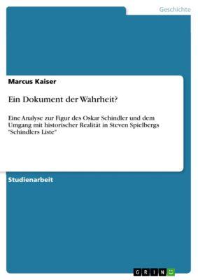 Ein Dokument der Wahrheit?, Marcus Kaiser