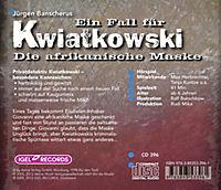 Ein Fall für Kwiatkowski Band 6: Die afrikanische Maske (1 Audio-CD) - Produktdetailbild 1