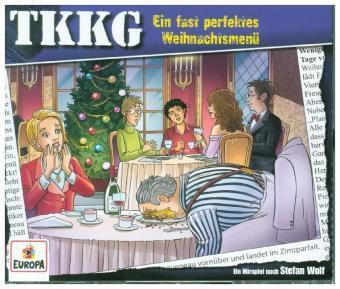 Ein Fall für TKKG - Ein fast perfektes Weihnachtsmenü, 3 Audio-CD, Tkkg