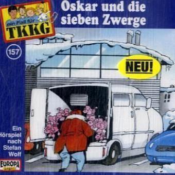 Ein Fall für TKKG - Oskar und die sieben Zwerge, 1 Audio-CD, Stefan Wolf