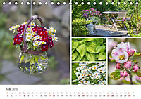 Ein Garten, der zum Verweilen einlädt (Tischkalender 2019 DIN A5 quer) - Produktdetailbild 13