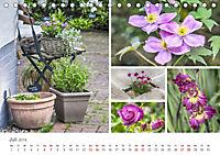 Ein Garten, der zum Verweilen einlädt (Tischkalender 2019 DIN A5 quer) - Produktdetailbild 7