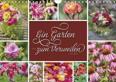 Ein Garten, der zum Verweilen einlädt (Wandkalender 2019 DIN A4 quer), Susann Kuhr