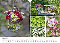 Ein Garten, der zum Verweilen einlädt (Wandkalender 2019 DIN A4 quer) - Produktdetailbild 5