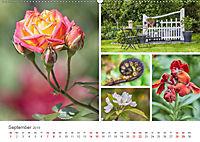 Ein Garten, der zum Verweilen einlädt (Wandkalender 2019 DIN A2 quer) - Produktdetailbild 9