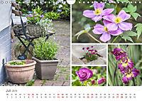 Ein Garten, der zum Verweilen einlädt (Wandkalender 2019 DIN A4 quer) - Produktdetailbild 7