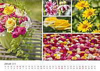 Ein Garten, der zum Verweilen einlädt (Wandkalender 2019 DIN A2 quer) - Produktdetailbild 1