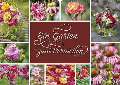 Ein Garten, der zum Verweilen einlädt (Wandkalender 2019 DIN A2 quer), Susann Kuhr