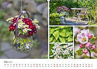 Ein Garten, der zum Verweilen einlädt (Wandkalender 2019 DIN A2 quer) - Produktdetailbild 5