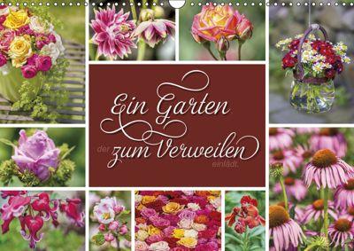 Ein Garten, der zum Verweilen einlädt (Wandkalender 2019 DIN A3 quer), Susann Kuhr