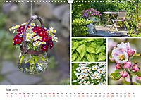 Ein Garten, der zum Verweilen einlädt (Wandkalender 2019 DIN A3 quer) - Produktdetailbild 5