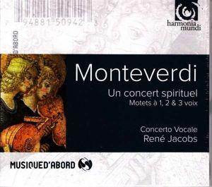 Ein geistliches Konzert (Motetten zu einer, zwei und drei Stimmen), Concerto Vocale, R. Jacobs