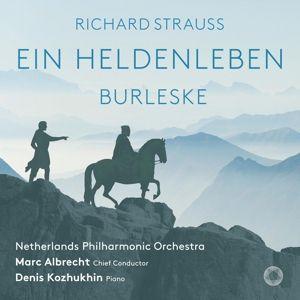 Ein Heldenleben/Burleske, Denis Kozhukhin, Marc Albrecht, Netherlands Po