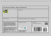 Ein Herz auf 4 Pfoten - Berner Sennenhund (Tischkalender 2019 DIN A5 quer) - Produktdetailbild 13