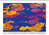 Ein intensives Farbenspiel am Wasser (Wandkalender 2019 DIN A2 quer) - Produktdetailbild 8