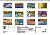 Ein intensives Farbenspiel am Wasser (Wandkalender 2019 DIN A2 quer) - Produktdetailbild 13