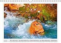 Ein intensives Farbenspiel am Wasser (Wandkalender 2019 DIN A4 quer) - Produktdetailbild 7