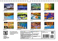 Ein intensives Farbenspiel am Wasser (Wandkalender 2019 DIN A4 quer) - Produktdetailbild 13