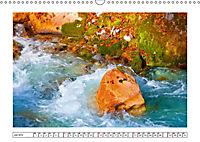 Ein intensives Farbenspiel am Wasser (Wandkalender 2019 DIN A3 quer) - Produktdetailbild 7