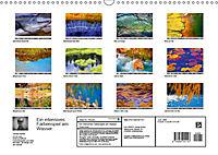 Ein intensives Farbenspiel am Wasser (Wandkalender 2019 DIN A3 quer) - Produktdetailbild 13