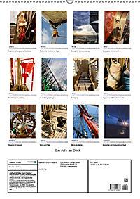 Ein Jahr auf Deck - Entdeckungen auf Großseglern (Wandkalender 2019 DIN A2 hoch) - Produktdetailbild 13
