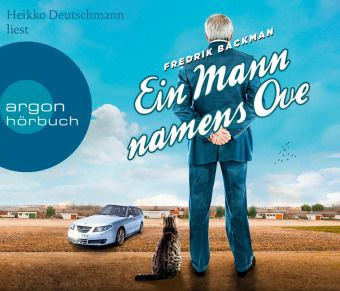 Ein Mann namens Ove, 6 Audio-CDs, Fredrik Backman