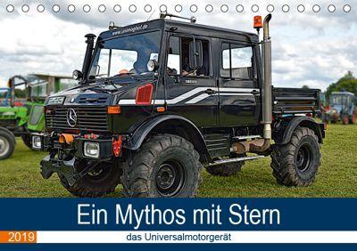 Ein Mythos mit Stern - das Universalmotorgerät (Tischkalender 2019 DIN A5 quer), Günther Geiger