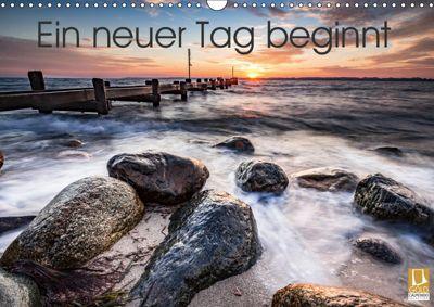 Ein neuer Tag beginnt (Wandkalender 2019 DIN A3 quer), Markus van Hauten