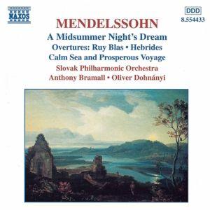 Ein Sommernachtstraum/Ouver, Felix Mendelssohn Bartholdy