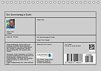 Ein Sommertag in Eutin (Tischkalender 2019 DIN A5 quer) - Produktdetailbild 13