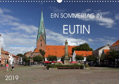Ein Sommertag in Eutin (Wandkalender 2019 DIN A3 quer), Holger Felix