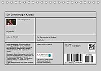 Ein Sommertag in Krakau (Tischkalender 2019 DIN A5 quer) - Produktdetailbild 13