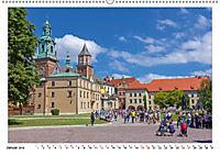 Ein Sommertag in Krakau (Wandkalender 2019 DIN A2 quer) - Produktdetailbild 1