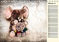 Ein Teddybär und seine Freunde (Tischkalender 2019 DIN A5 quer) - Produktdetailbild 2