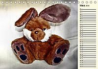 Ein Teddybär und seine Freunde (Tischkalender 2019 DIN A5 quer) - Produktdetailbild 3