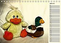 Ein Teddybär und seine Freunde (Tischkalender 2019 DIN A5 quer) - Produktdetailbild 7