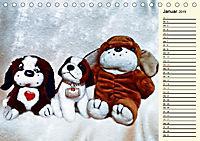 Ein Teddybär und seine Freunde (Tischkalender 2019 DIN A5 quer) - Produktdetailbild 1